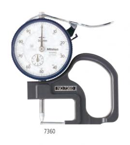 medicion de espesor de pared de tubo 7360 analogo