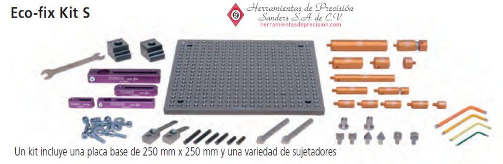 sistemas de sujecion de piezas eco fix kit s