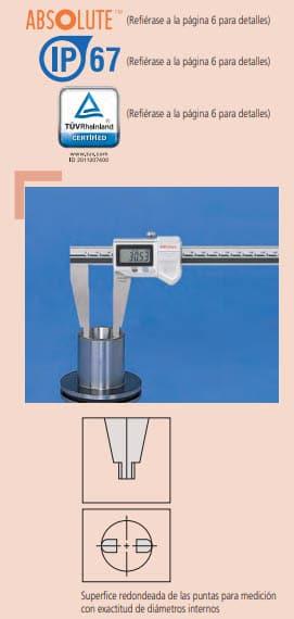 calibrador digimatic absolute