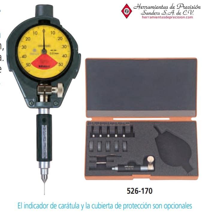 medidor de agujeros extra pequeños 526-170