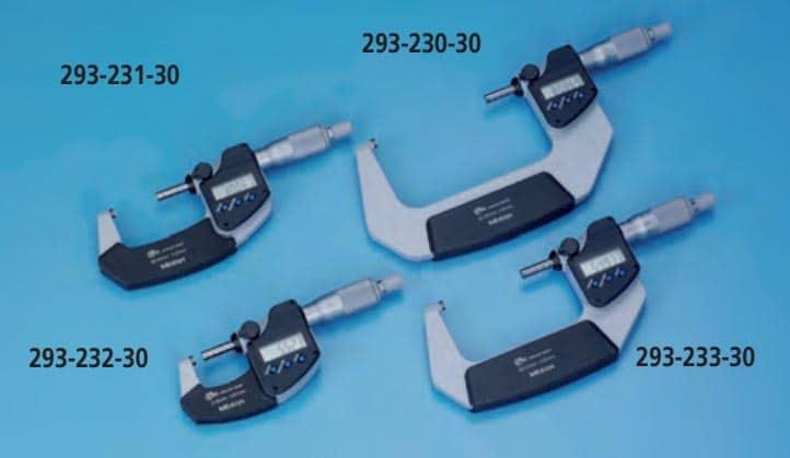 micrómetros 293-231-30 293-230-30 293-232-30 293-233-30