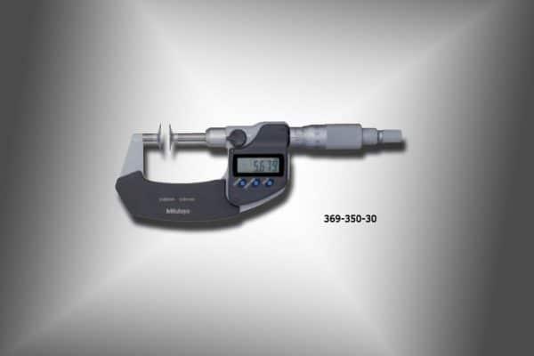 micrometros de disco tipo husillo sin rotación 369-350-30