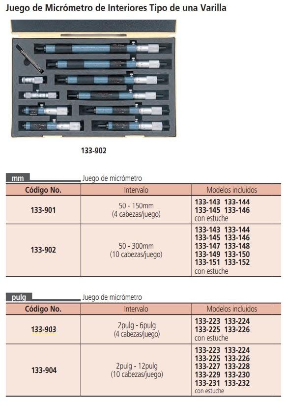 micrometros de interiores otros modelos