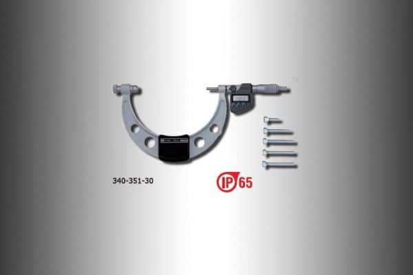 micrometros exteriores con topes intercambiables 340-351-30