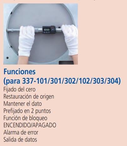 micrometros para interiores funciones