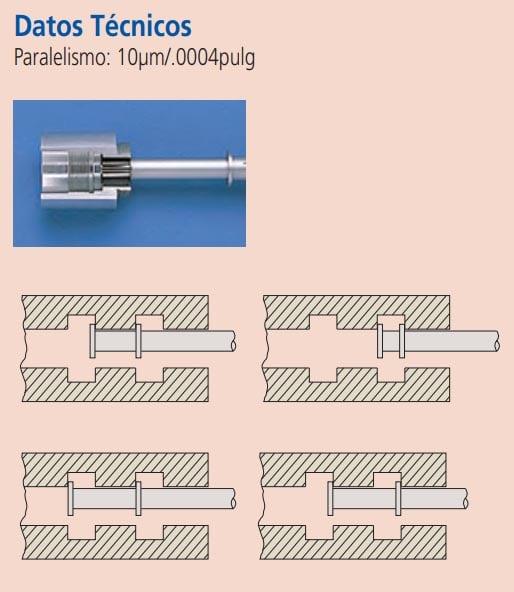 micrometros para ranuras datos tecnicos
