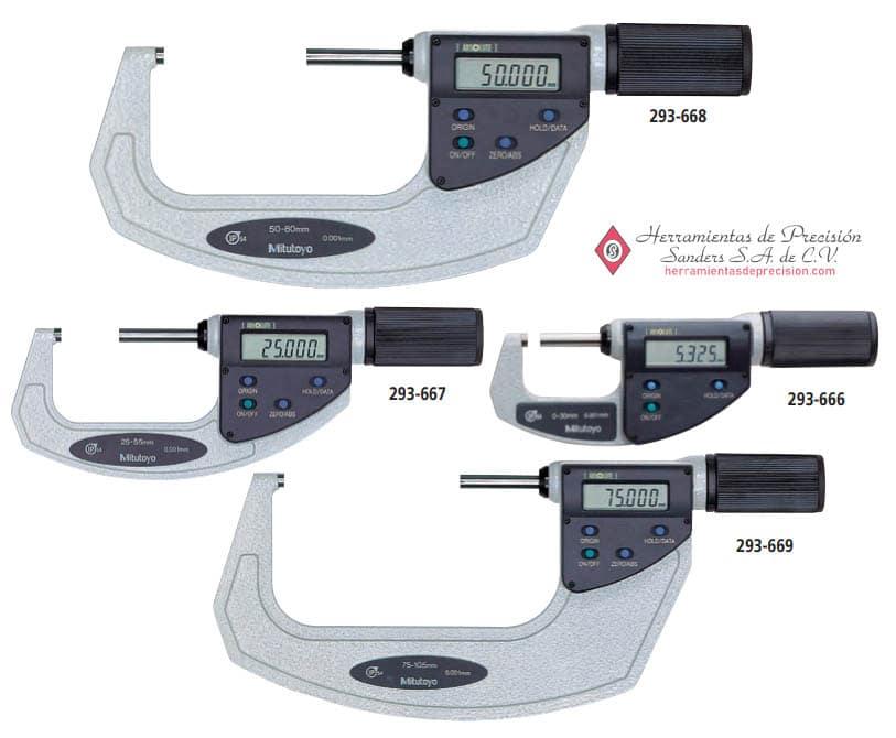 quickmike ip54 micrometros absolute digimatic otros modelos