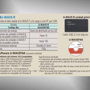 u-wave-r software u-wavepak