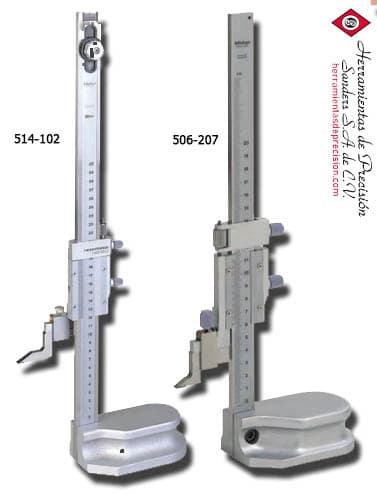 medidor de alturas vernier 514-102 506-207