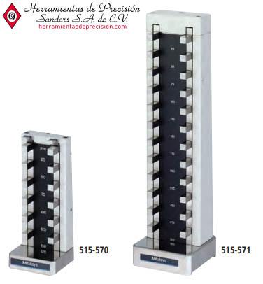 patrón para micrómetros de profundidad serie-515